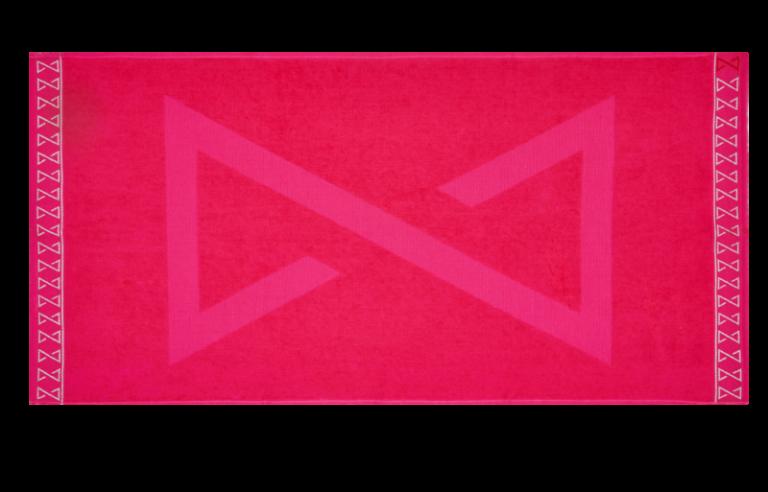 Pink prémium törölköző